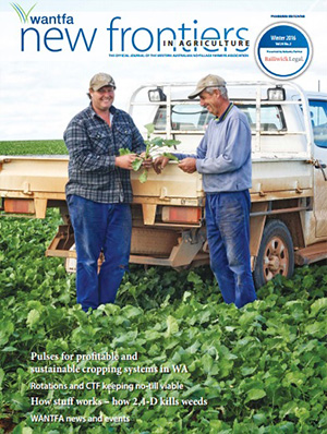 New Frontiers in Agriculture Summer 2015 Vol 23 No 4