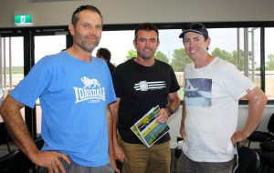 John Even, Glen Quartmain and Michael McGill at the WANTFA Crop Updates in Gomalling